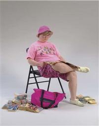 flea market lady by duane hanson