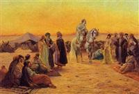 la venditrice della schiava nel deserto by a. stephan