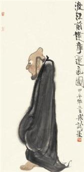 达摩渡江 by xu lele