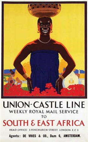 union castle line south east africa by richard t cooper