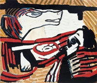 the wolf (x80-072) by karel appel