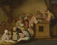 schulstube by bartholomeus molenaer
