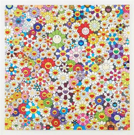 flowers flowers flowers by takashi murakami