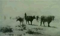 cattle herding by carl eytel