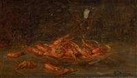 le plat de crevettes by marguerite dielman