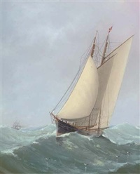 housed topmasts by charles keith miller