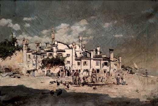 niños en venecia by enrique cabral y llano