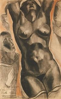 la femme nue by jean vervisch