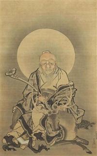 jurojin by kano tsunenobu