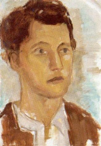männerporträt by hans hubertus von merveldt