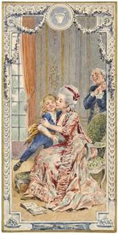 la bonne aventure (illustrated); le 31 du mois d'aout; c'est mon ami, rendez-le moi; ah! vous dirais-je, maman; il etait une bergere (5 works) by maurice leloir