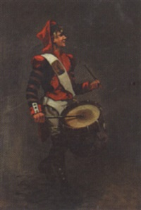 the republican drummer boy by charles alphonse goldie