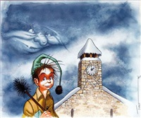 les contes du petit ramoneur (for cover; double-sided) by turf