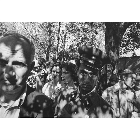 shadows, gorky park, moscow by william klein