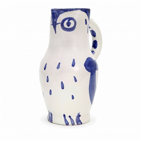 owl pitcher by pablo picasso