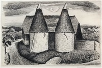 oast house by graham sutherland