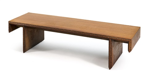 Coffee Table By Frank Lloyd Wright For Heritage Henredon By Frank Lloyd  Wright