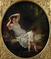 venus & cupid by edward sherard kennedy