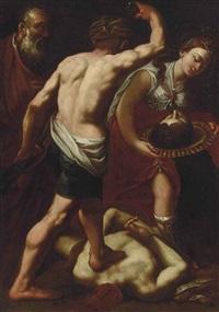 the beheading of saint john the baptist by luca giordano