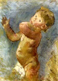 putto (sketch) by hans andre