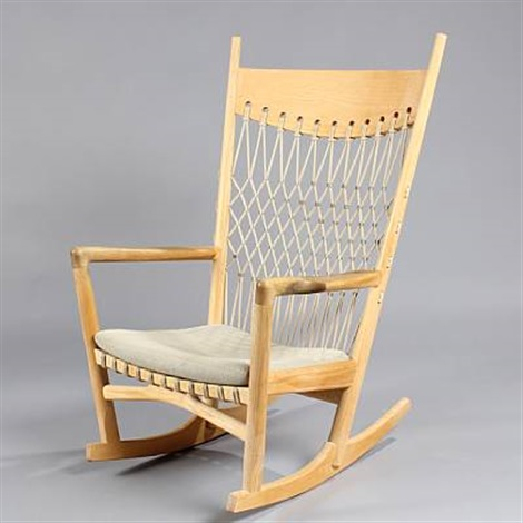 pp 124 rocking chair by hans j wegner