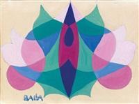 stilizzazione floreale (per ricamo) by giacomo balla