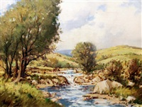 upper reaches of killary, connemara by arthur h. twells