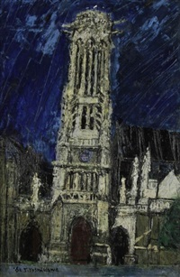 paris, église de saint-germain-l'auxerrois by tsutomu yoshikawa