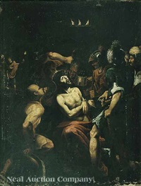 the mocking of christ by flemish school (15)
