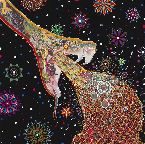 penetrators by fred tomaselli