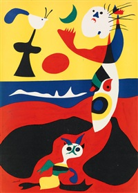 l'été by joan miró