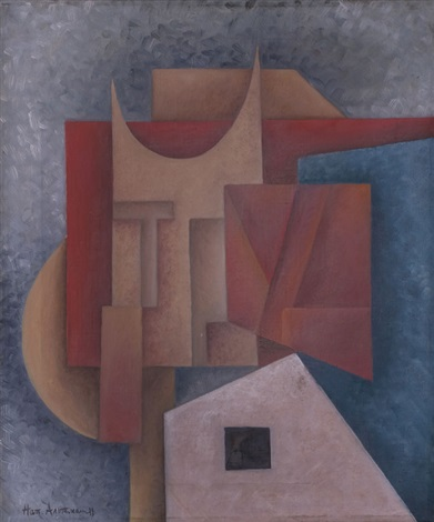 abstrakte komposition by natan isaevich altman