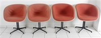 dax-armstühle (set of 4) by charles eames