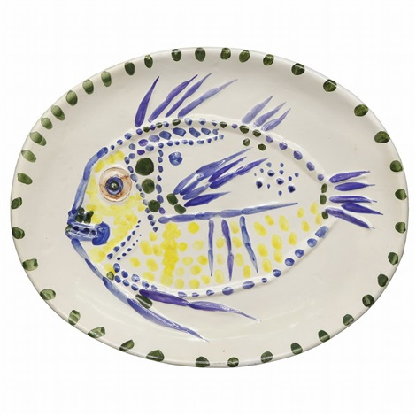 white ground fish by pablo picasso