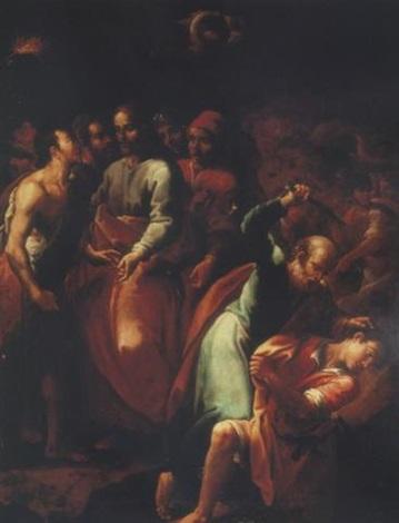 la cattura di cristo e il dubbio di malco by fabrizio santafede