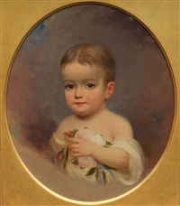 portrait of a child by samuel bell waugh