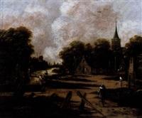 dorpsgezicht by jan meerhout