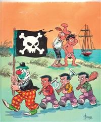 norbert et kari - le gugusse et les petits mutins (cover) by christian godard