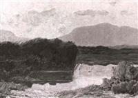 chiemseemoor by ludwig bolgiano