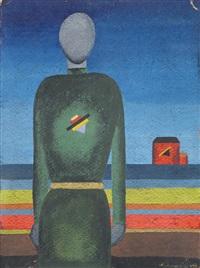 figura e casa by anna aleksandrovna leporskaya