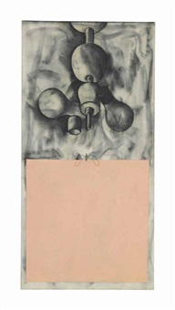 bedroom lite over the flesh square by jim dine
