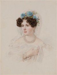 portrait of princess aglaida pavlovna golitzin by petr fedorovich sokolov