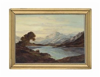 morning over the loch by charles leslie