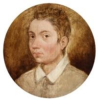 brustbild eines jungen mannes by pieter brueghel the younger