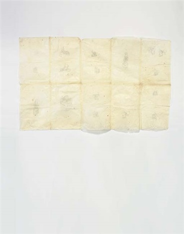 untitled on 10 attached sheets by kiki smith