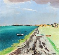 strand mod hundested, 1946 by jens andersen sondergaard