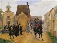 the regiment's triumphal return by pierre petit-gérard