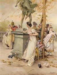 reunión en el parque by mariano alonso pérez