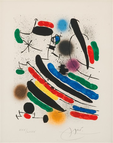 without title by joan miró
