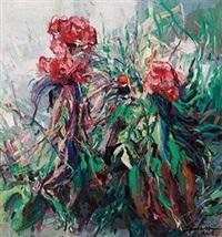 鸡冠花 by lin jiabing